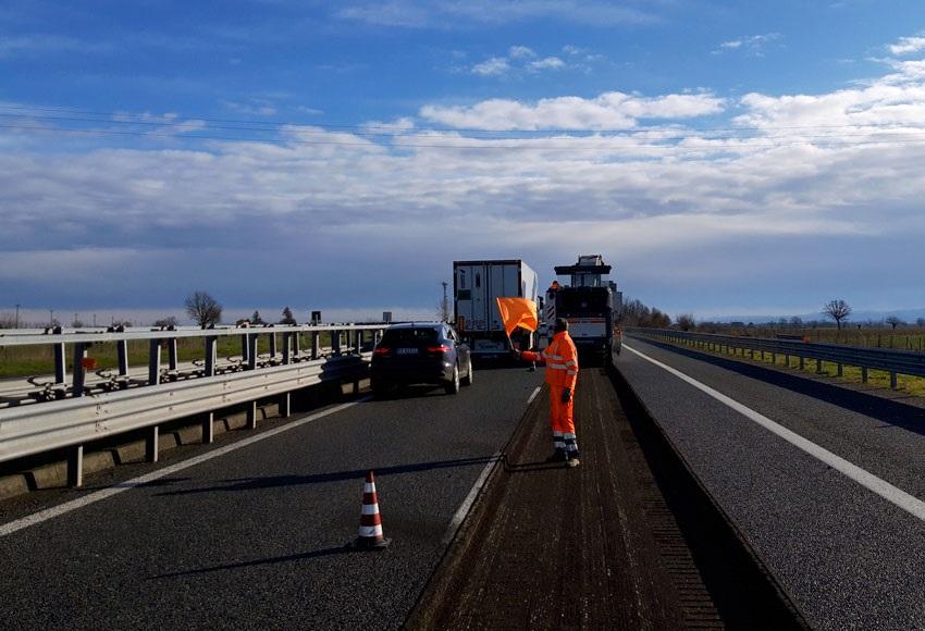 Ripristino Pavimentazione Stradale Per Autostrade Per L'Italia
