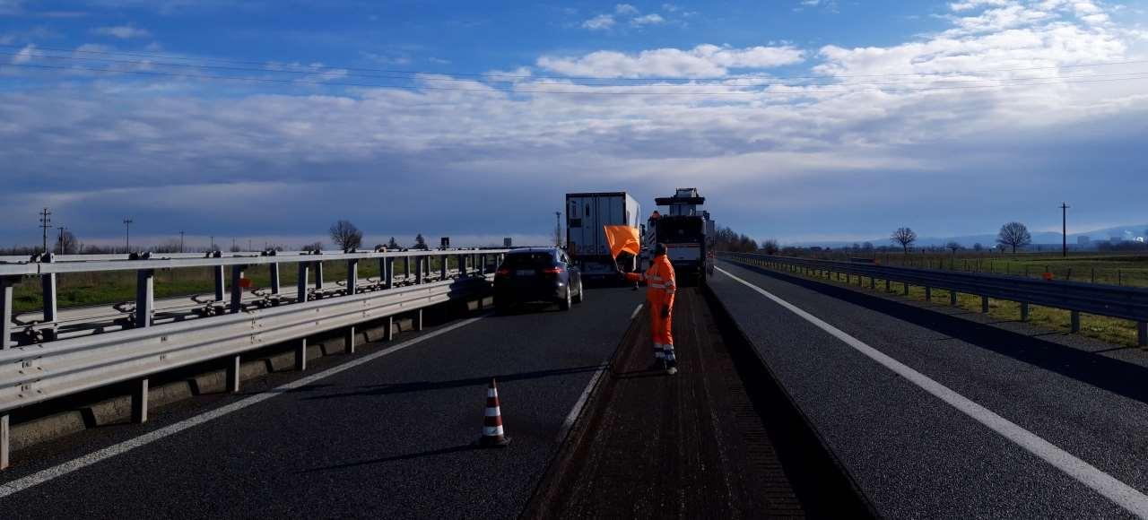 Ripristino della pavimentazione stradale per Autostrade per l'Italia